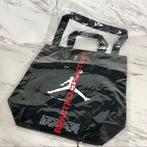 3/$60 NWT Nike Exclusive Jumpman React Canvas Tote